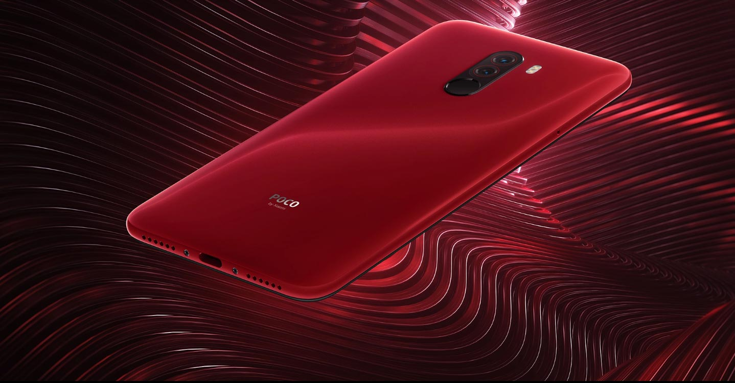 Pocophone F1 Red