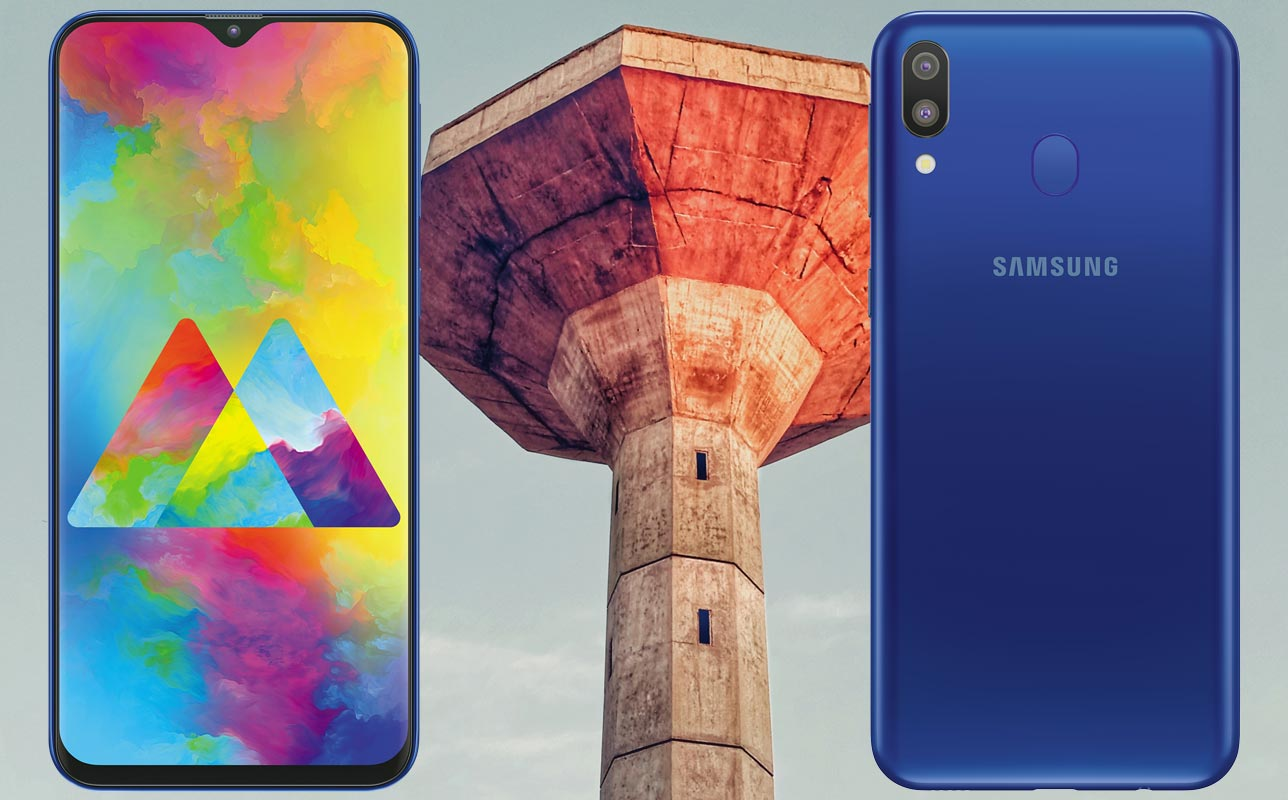 Samsung Galaxy M20 with Light House