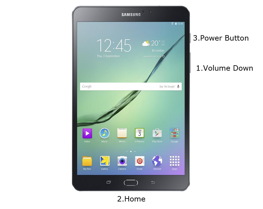 Samsung Galaxy Tab S2 8 Download Mode