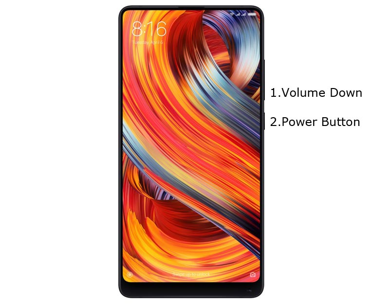 Xiaomi Mi Mix 2 Fastboot Mode