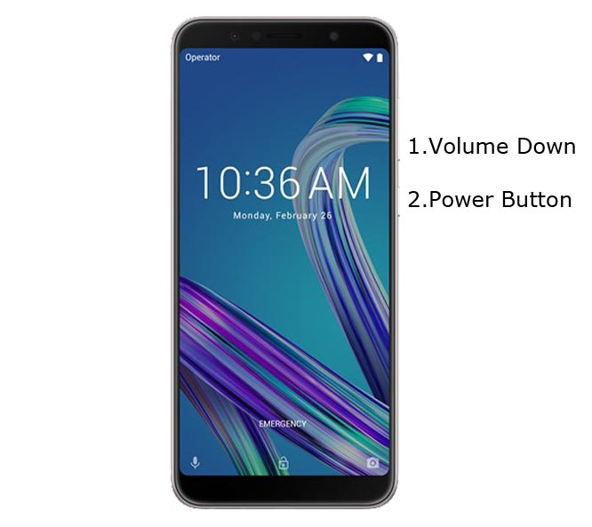 Asus Zenfone Max Pro M1 Recovery Mode