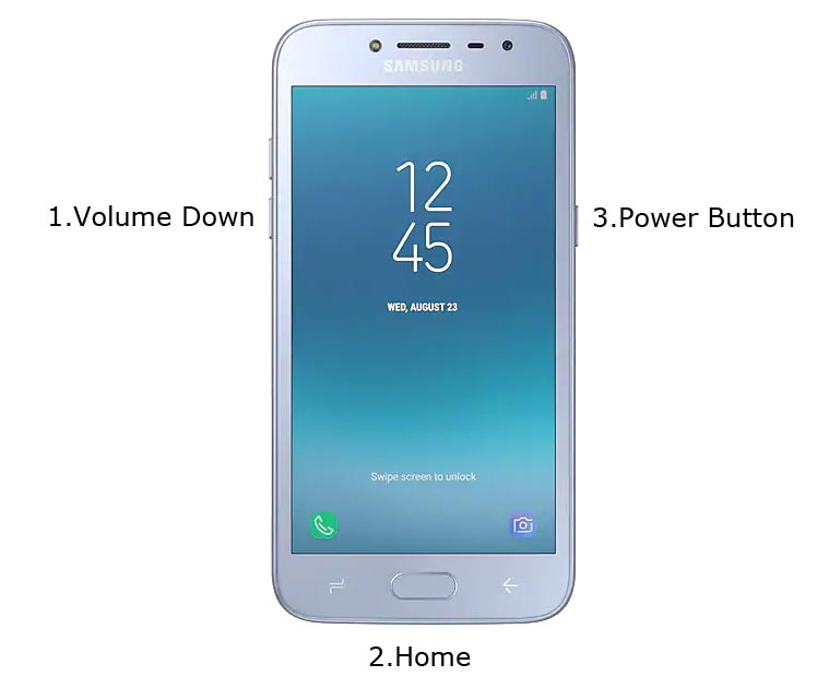 Galaxy J2 Pro Download Mode