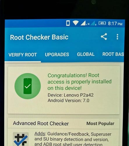 Root Lenovo P2 Nougat 7 0 using TWRP and Install Magisk - Android