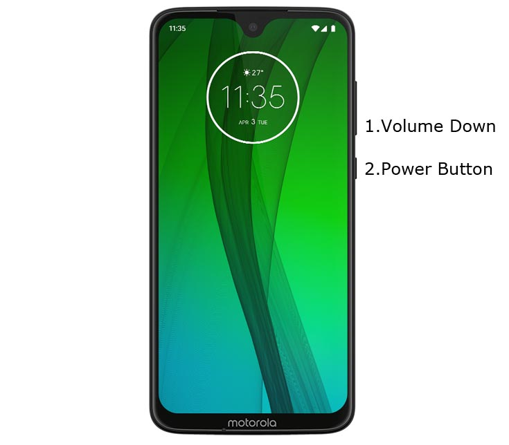 Moto G7 Plus Fastboot Mode