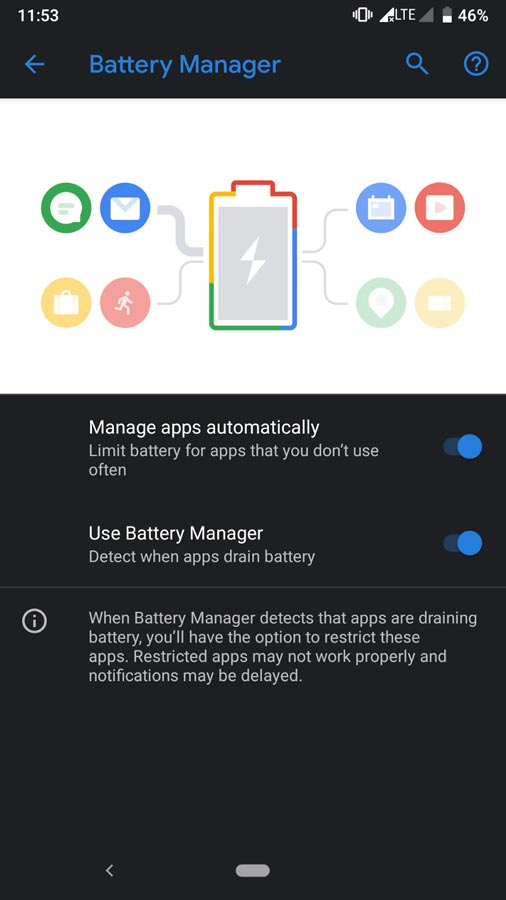 Pixel Experience ROM Adaptive Battery