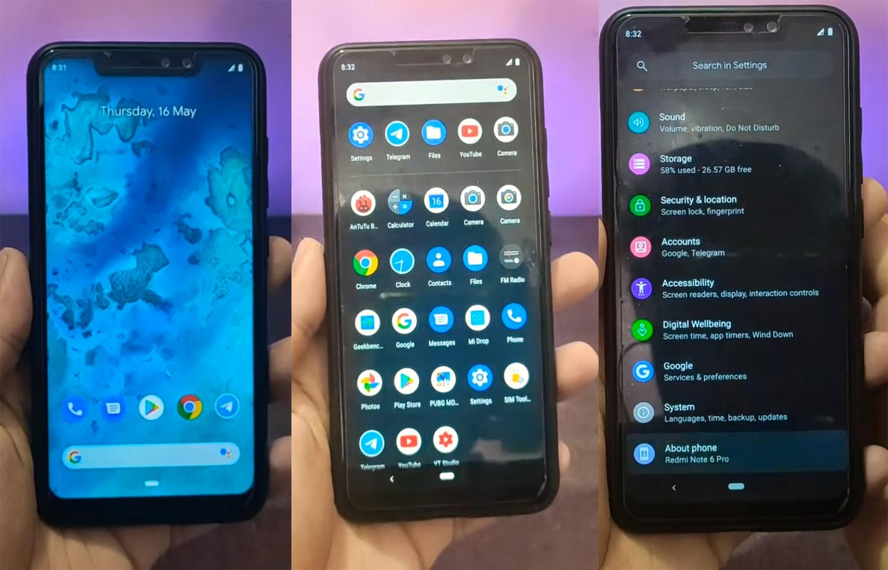 Redmi Note 6 Pro Pixel Experience ROM