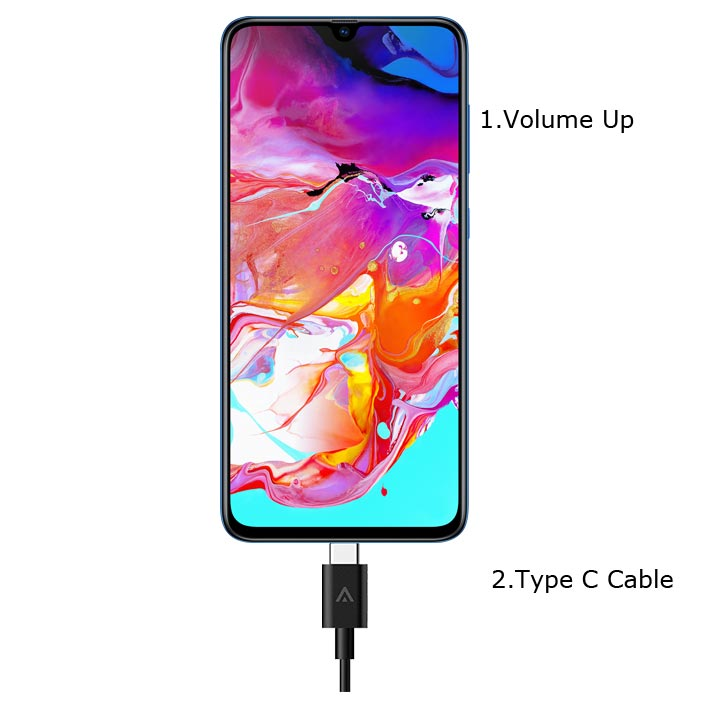 Samsung Galaxy A70 recovery Mode