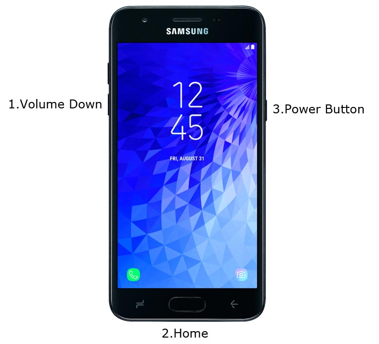 Samsung Galaxy J3 Top Download Mode