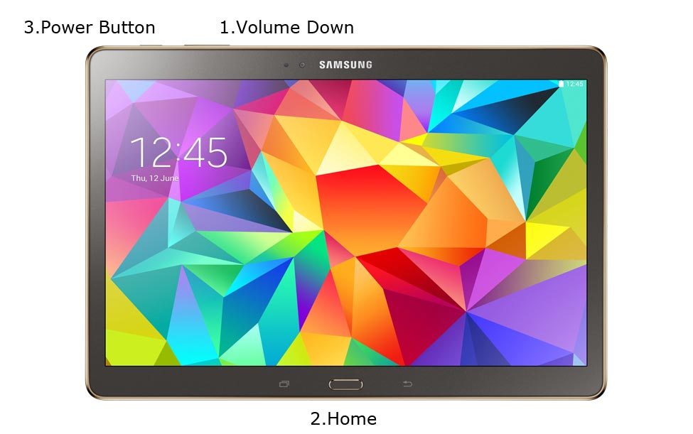 Samsung Galaxy Tab S 10 5 LTE Download Mode