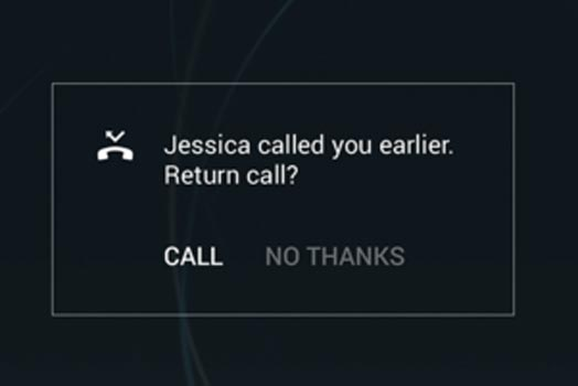 Sony Xperia Smart Reminder