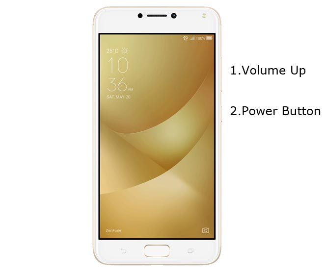 Asus Zenfone 4 Max Recovery Mode