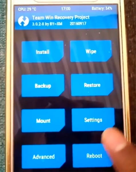 Gionee A1 TWRP