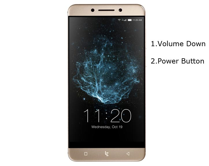 LeEco Le Pro3 Fastboot Mode