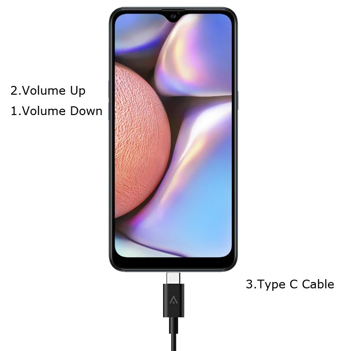 Samsung Galaxy A10s Download Mode