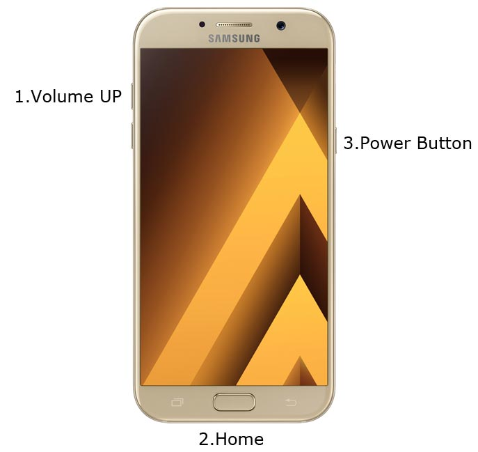 Samsung Galaxy A7 2017 Recovery Mode