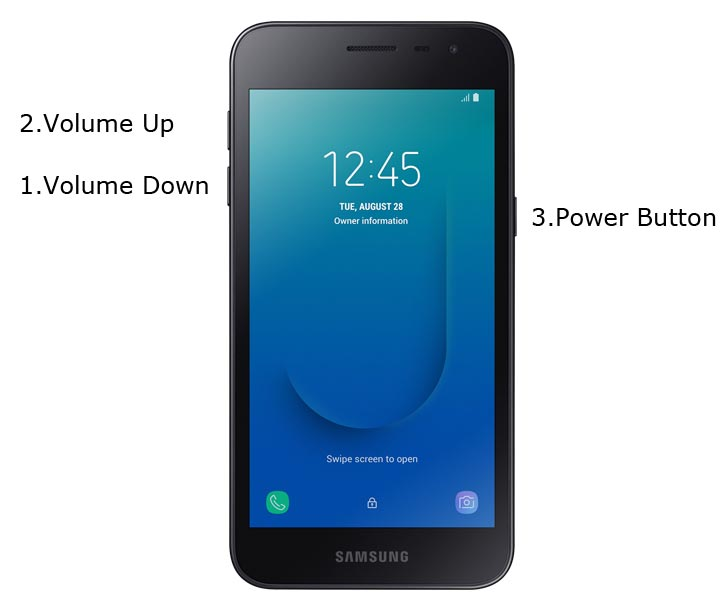 Samsung Galaxy J2 Core Download Mode