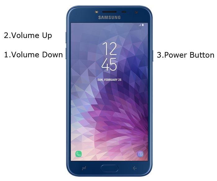 Samsung Galaxy J4 Download Mode