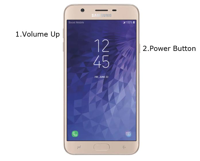Samsung Galaxy J7 Refine 2018 Recovery Mode