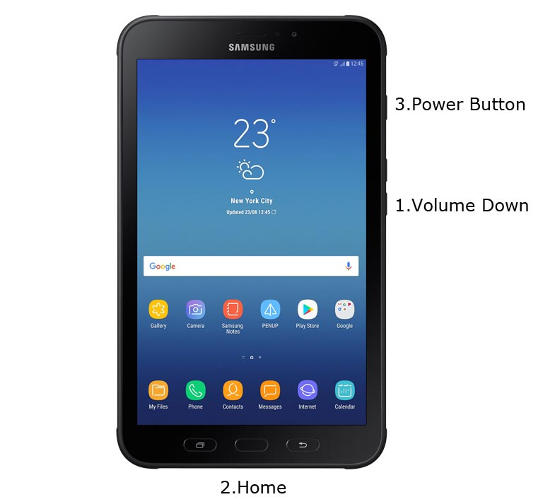 Samsung Galaxy Tab Active 2 Download Mode