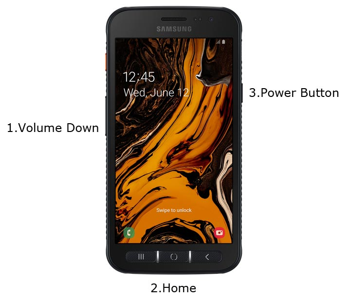 Samsung Galaxy XCover 4s Download Mode