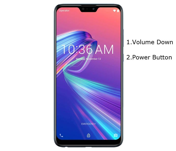Asus Zenfone Max Pro M2 Recovery Mode