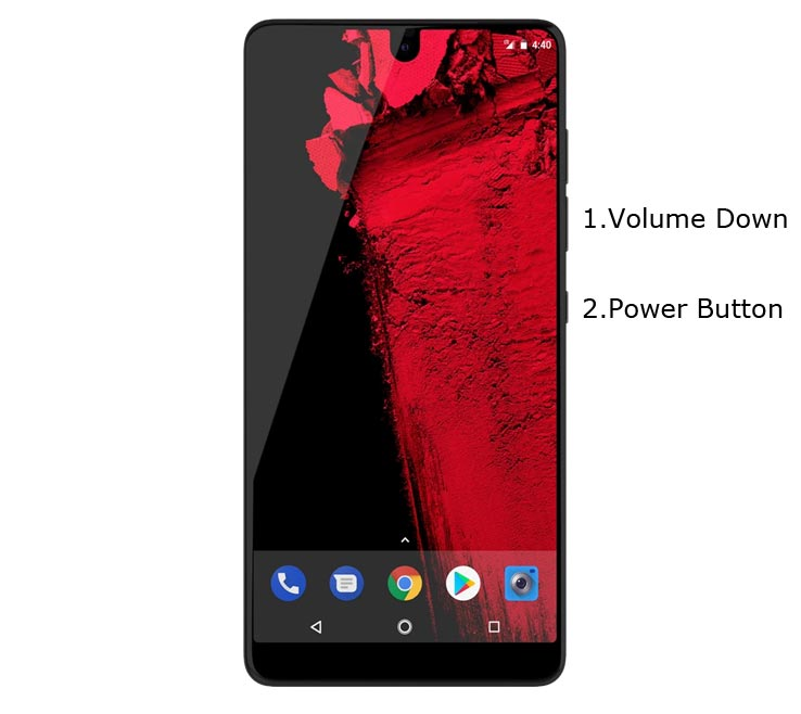 Essential PH-1 Fastboot Mode