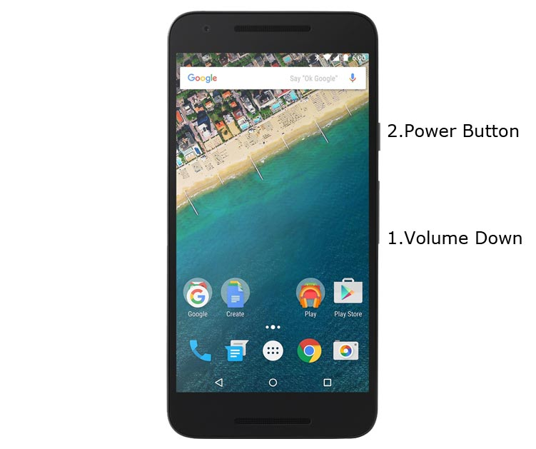 Google Nexus 5X Fastboot Mode