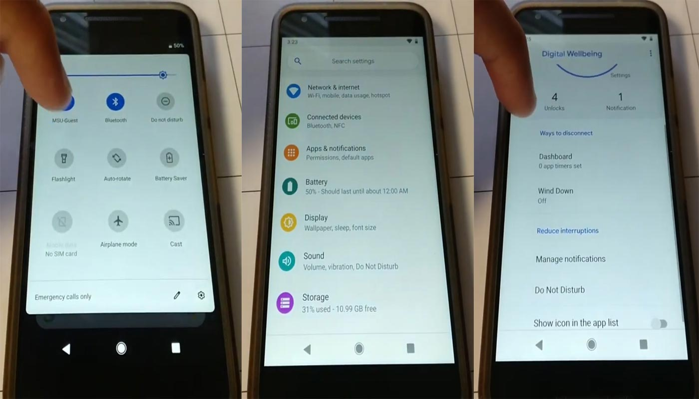 Google Nexus 5X Pixel Experience ROM Screenshots