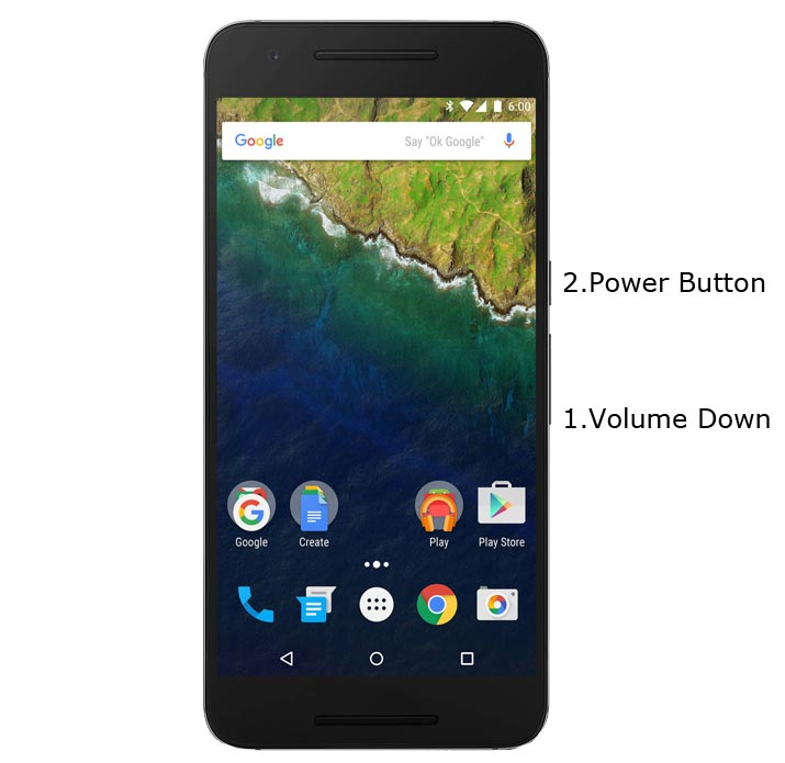 Google Nexus 6P Fastboot Mode