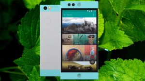 Nextbit Robin with Mint Leaves Background