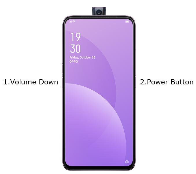 Oppo F11 Pro Recovery Mode