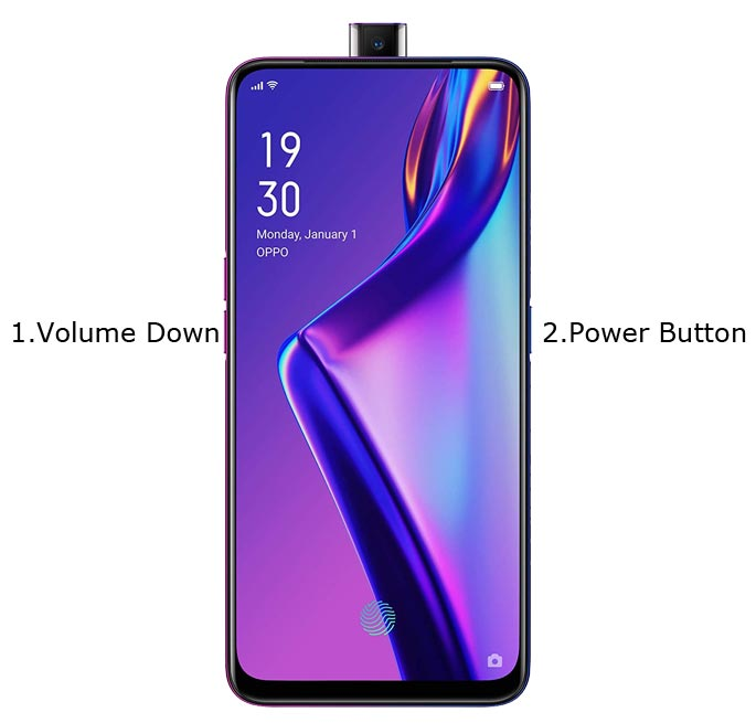 Oppo K3 Recovery Mode