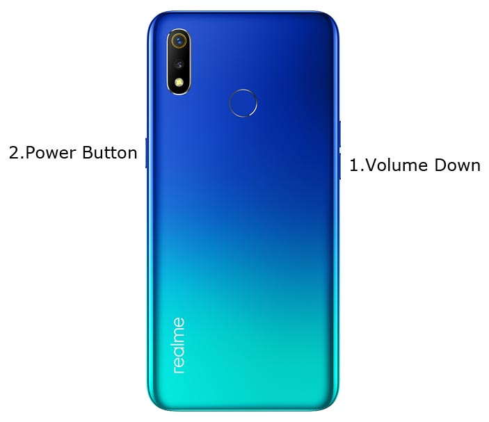 Oppo Realme 3 Recovery Mode