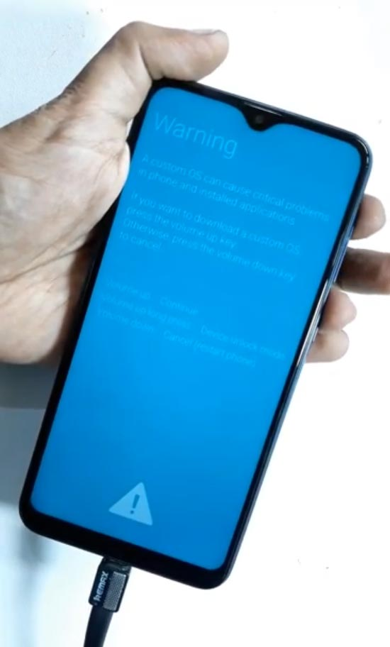 Samsung Galaxy A10 Download Mode