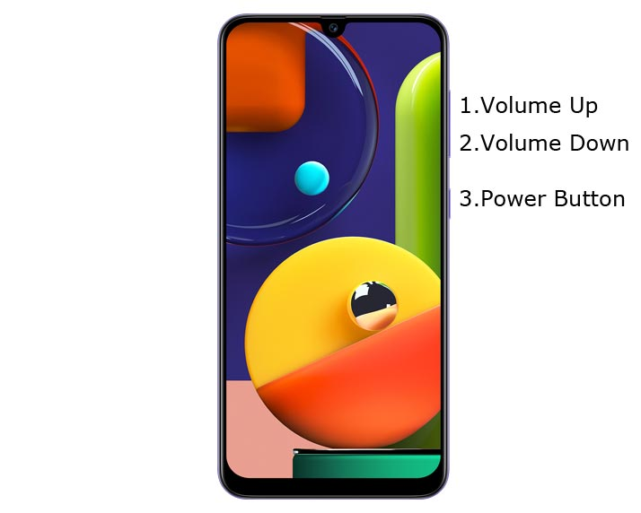 Samsung Galaxy A50s Recovery Mode