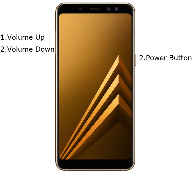 Samsung Galaxy A8 2018 Recovery Mode