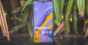 Samsung Galaxy M30s in Outdoor with Plants