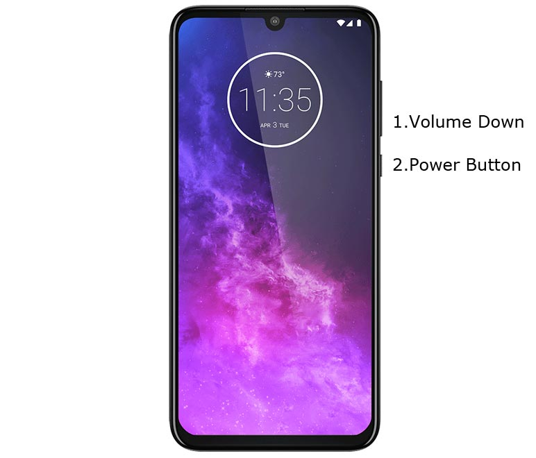Motorola One Zoom Fastboot Mode