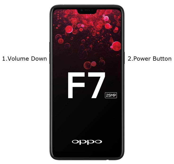 Oppo F7 Recovery Mode