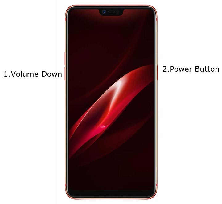 Oppo R15 Recovery Mode