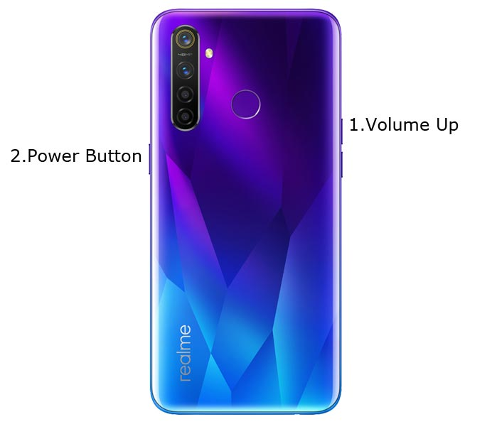 Realme 5 Pro Fastboot Mode
