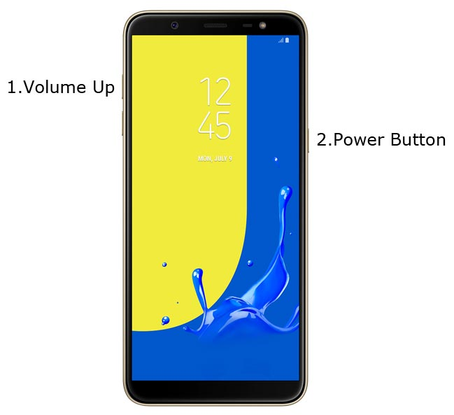 Samsung Galaxy J8 Recovery Mode