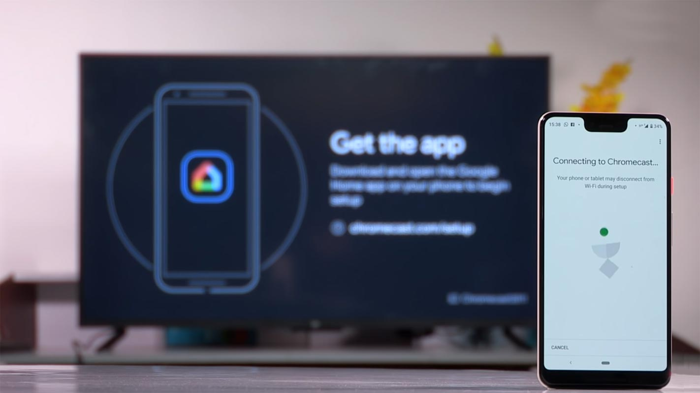 Chromecast Connect With Android TV
