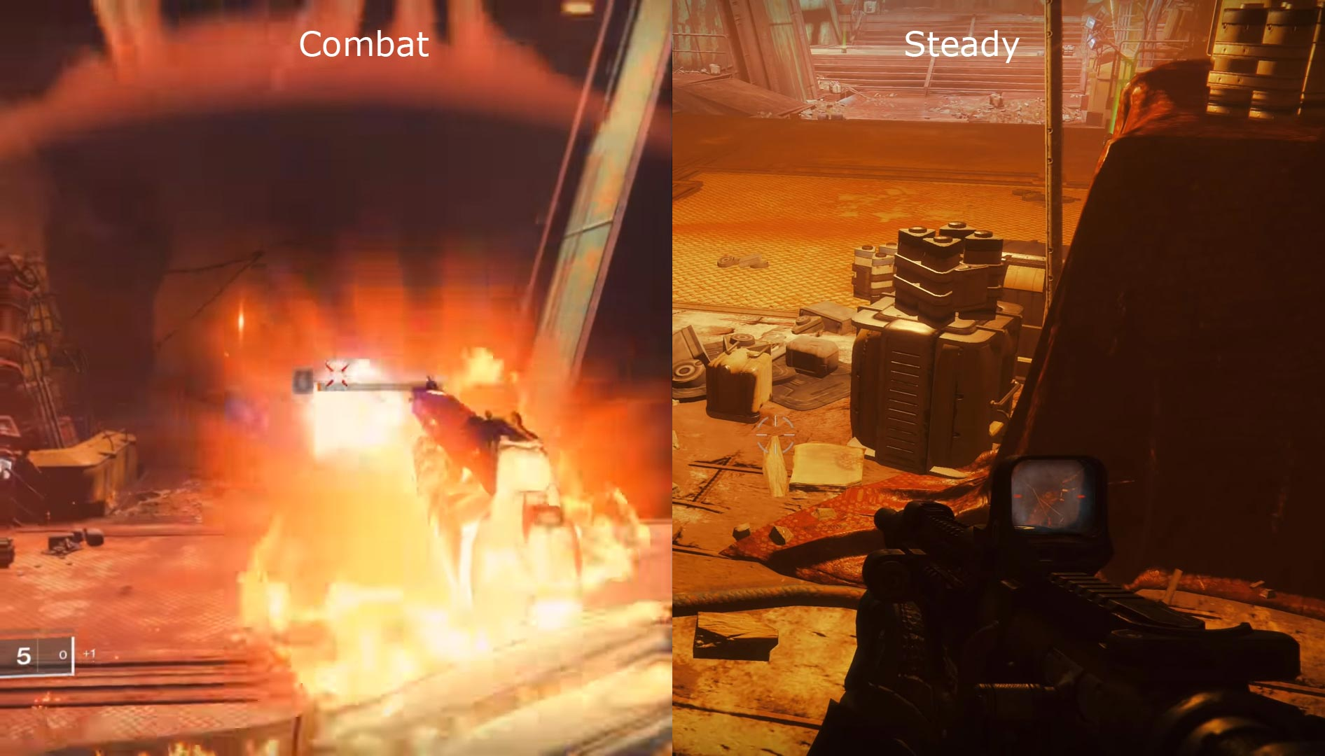 Destiny 2 Combat and Steady Stage Stadia