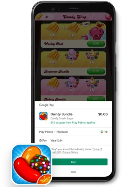 Earn Play Points During Purchasing Google Play Store