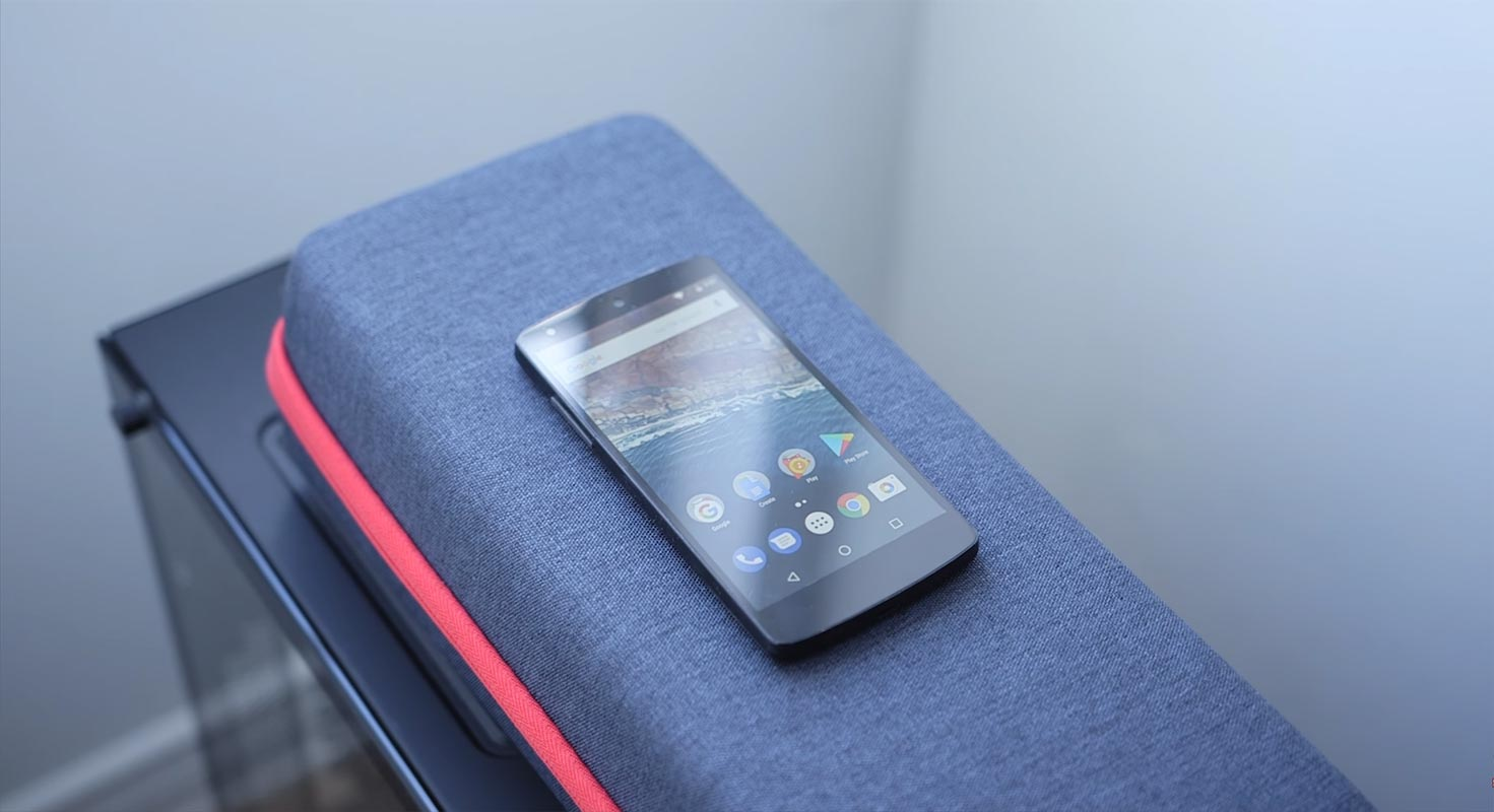 Google Nexus 5 on the Couch