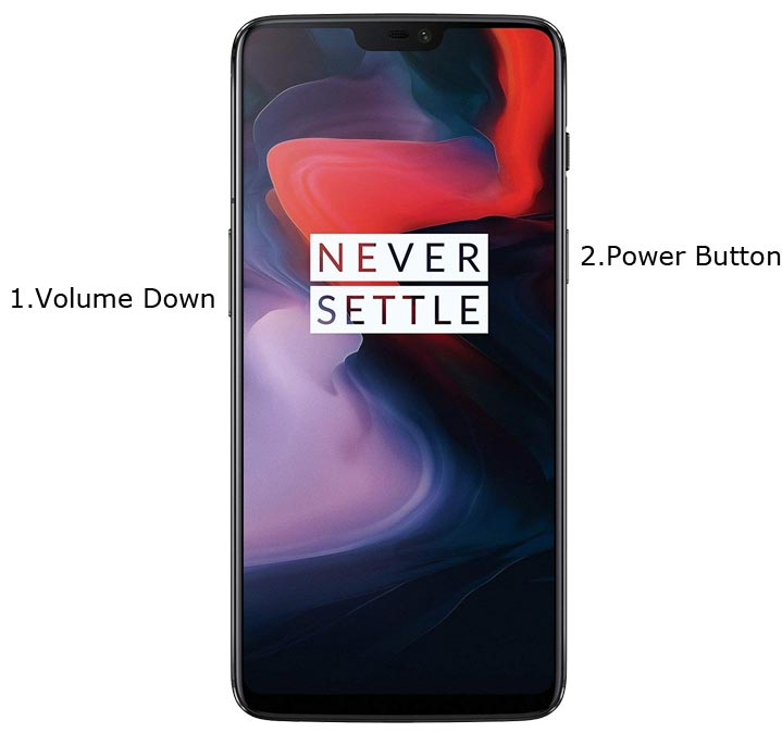 OnePlus 6 Recovery Mode
