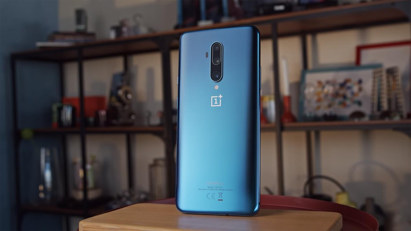 OnePlus 7T Pro Back Side on the Table