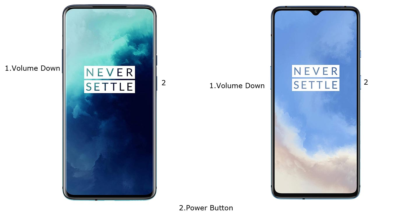 OnePlus 7T Pro Fastboot Mode