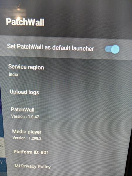 Patch Wall Launcher Enable Mi TV